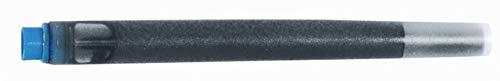 Parker Quink - Cartucho de tinta lavable (5 unidades), color de la tinta: azul real (5 unidades)