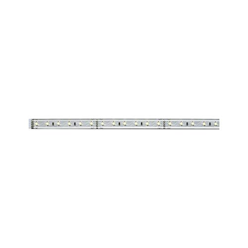 Paulmann 70663 MaxLED 500 LED Strip 1 m LED Stripe 2.700 K Warmweiß Lichtband beschichtet Lichtstreifen 7W 550 lm 72 LED 24 V