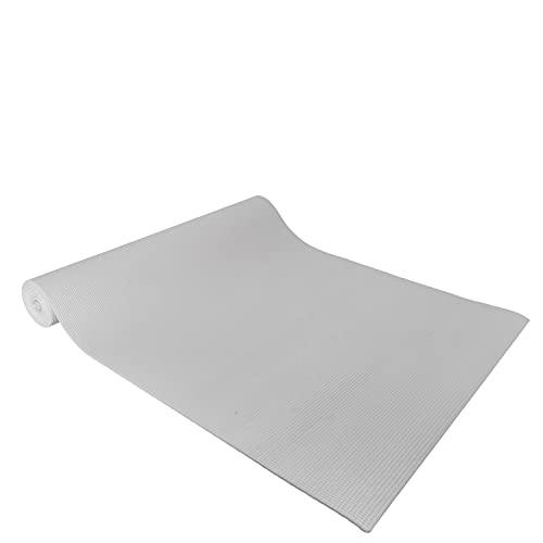 #DoYourYoga PVC Esterilla de Yoga Espuma de Memoria KIRANA Medidas: 183 x 61 x 0,4 cm/Muy resbaladizo Hecho de Eco PVC/el Punto de Partida Ideal para el Yoga, aeróbic, Fitness y Pilates.