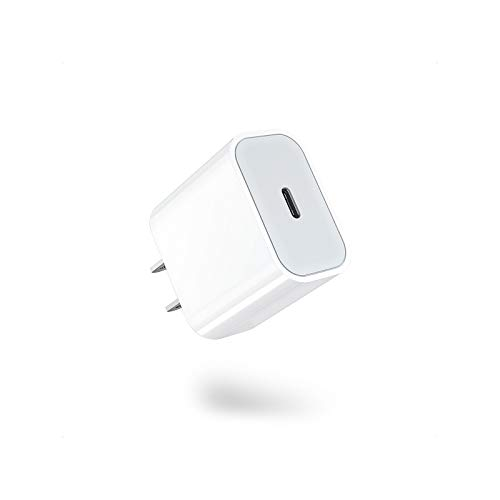 iPhone 12 Charger, Amoner 20W USB C Charger for iPhone 12/12 Mini /12 Pro Max, Power Delivery 3.0 Fast Charger, PD Type C Charger Compatible with iPhone 11, iPhone 11 Pro, Pixel 3 (Cable not Included)