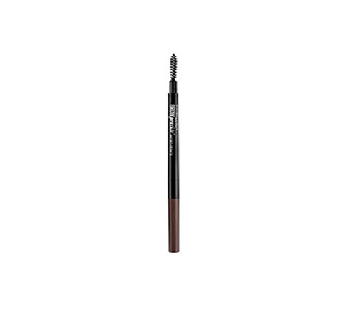 Maybelline Brow Precise Micro Pencil, 260 Deep Brown (Pack of 2)