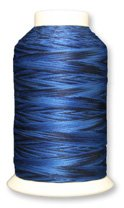 Why Should You Buy YLI 22415-11V 3-Ply 24wt Fusions Cotton Quilting Thread, 1500 yd, Hyacinth