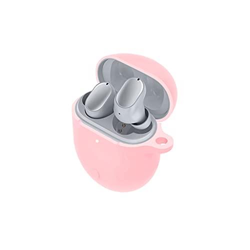 HARZELN Adecuado para Redmi AirDots 3 Pro Bluetooth auriculares cubierta protectora silicona Shell carga auricular bolsa de almacenamiento