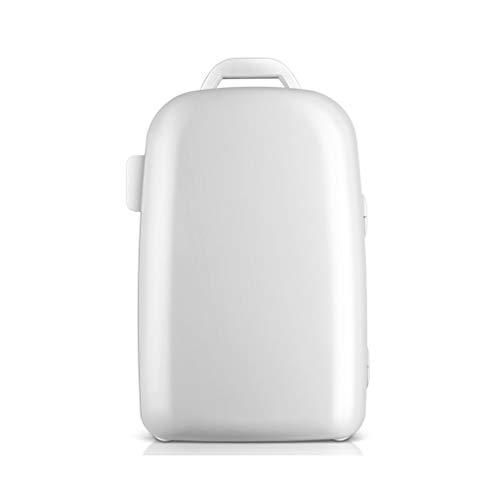 28L voiture réfrigérateur petit ménage réfrigération réfrigérateur porte simple et isolation micro réfrigérateur dortoir étudiant réfrigérateur multi-fonctions (Color : WHITE, Size : 51 * 34 * 34CM)