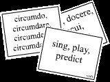 Latin Primer II Flash Cards