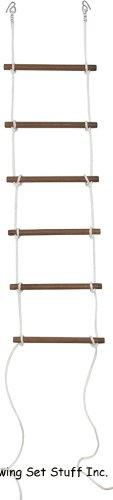 "Swing Set Stuff Rope Ladder with SSS Logo Sticker, 18"""