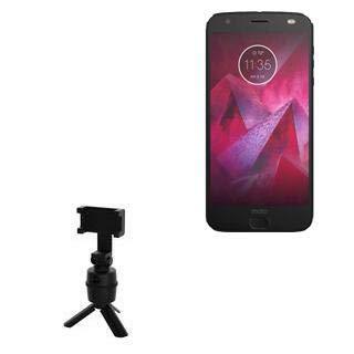 Suporte e suporte BoxWave para Motorola Moto Z2 Force [Suporte PivotTrack para selfie] Suporte de rastreamento facial pivô para Motorola Moto Z2 Force – Preto