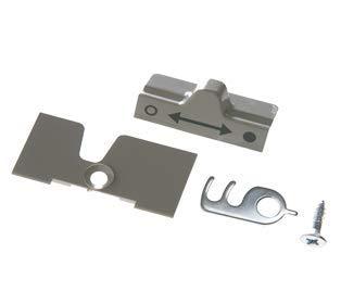 Dometic/Electrolux, kit di fissaggio di serratura del frigo per roulotte e camper (7300)