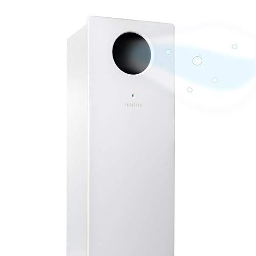 Respirae Purificador de Aire con luz Ultravioleta UV-C, Aire Libre de Virus y bacterias, efectividad del 99,9%, Certificado por la Universidad del País Vasco, sin filtros ni ozono (Blanco)