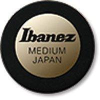 Ibanez ベースピック ●Shaped pick for Bassist 丸型 (BK)