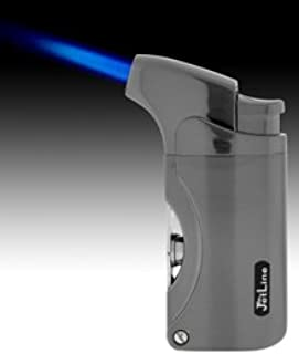 JetLine Dante Gun Metal Torch Lighter