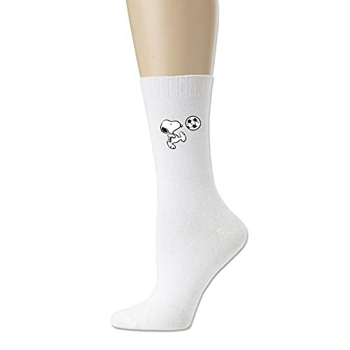 Snoopy Calcetines de algodón para hombre y mujer