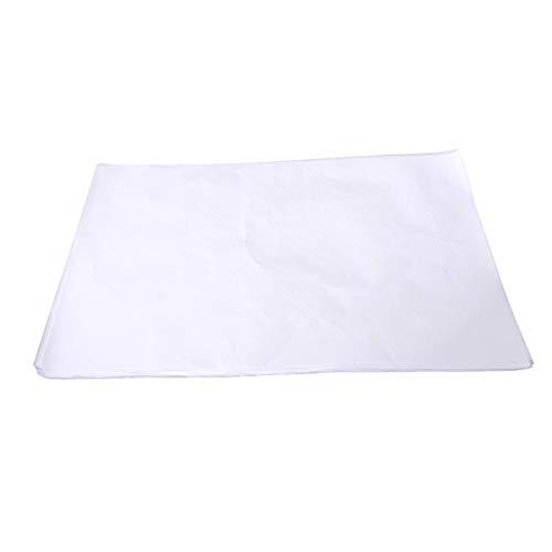 BESTONZON Hamburguesa Patty Paper, papel de cera cuadrado de 100 piezas, hojas de papel de cera de hamburguesa, congelador seguro para la carne de res, pavo, bisonte y otras hamburguesas