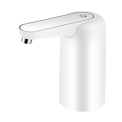 HUAQINEI Dispensador de Botella de Agua, dispensador de Agua eléctrico Universal con Carga USB, Bomba de Jarra de Agua Potable a Prueba de Agua para 2-5 galones de Agua