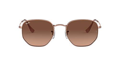 Ray-Ban 0RB3548N Gafas de sol, Copper, 50 Unisex