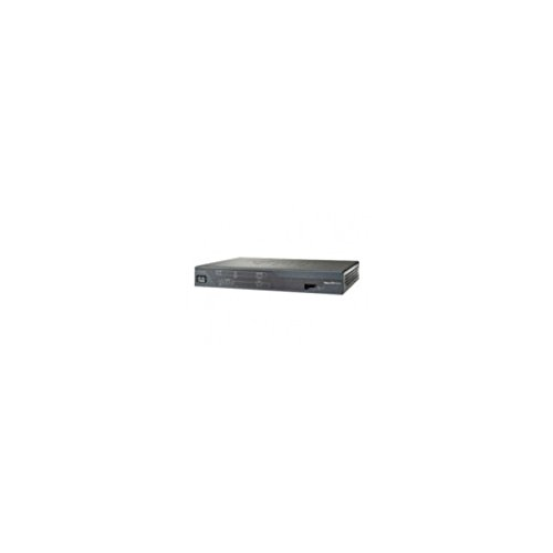 Cisco 881 - Kabelrouter (Ethernet, Ethernet, Fast Ethernet, Telnet, SNMP 3, HTTP, HTTPS, Schwarz, 256 MB, 512 MB)