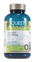 Quest-Chewable Cal-Mag Plus Vitamin D-90 Genuine Free Shipping Fashion Quest Brand: Chews