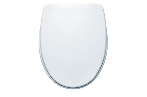 Gala elia - Asiento elia con caida amortiguado para inodoro blanco