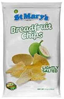 St Mary's Breadfruit chips lightly salted (pack of 3)