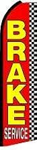 NEOPlex Brake Service Checkered Swooper Flag