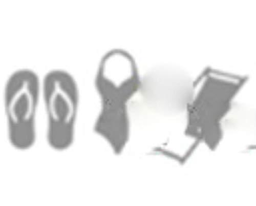 CTOBB Metallschneidwerkzeuge schneiden Werkzeugform Urlaub Strand Bikini Scrapbook-Papier Handwerk Messer Werkzeug Messer Stempel Schablonen stirbt wie Bilder