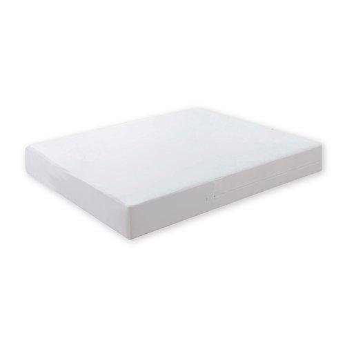 Pur Luxe Econo Matratzen- und Boxfeder-Abdeckung, 137,2 x 199,2 x 22,9 cm, Weiß