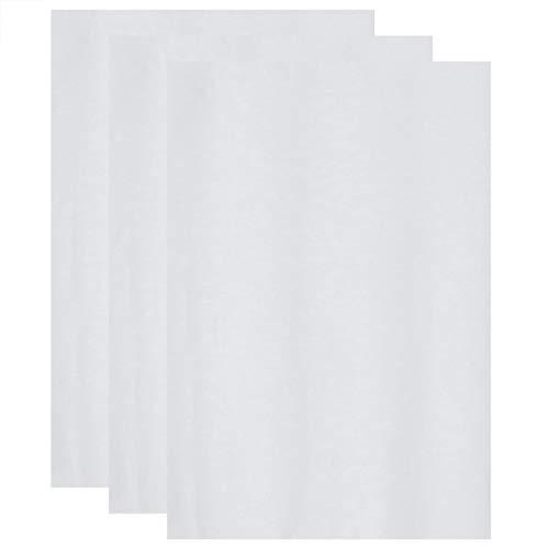 STOBOK 20 Stück Blumenverpackungsblatt Einfarbige Malerei Verpackungspapier DIY Handwerk Geschenk Verpackt Papier für Home Florist Hochzeitsfeier Weiß