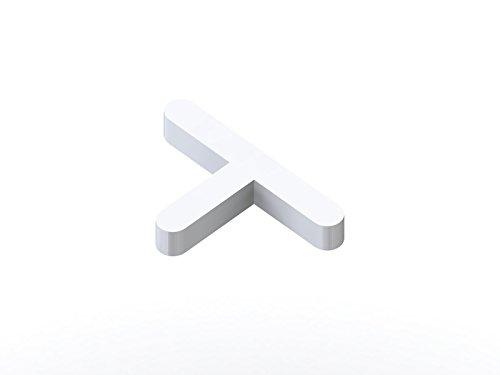 Tile Rite tss214T geformtem lang Bein Tile Spacer, weiß, 250x 2mm