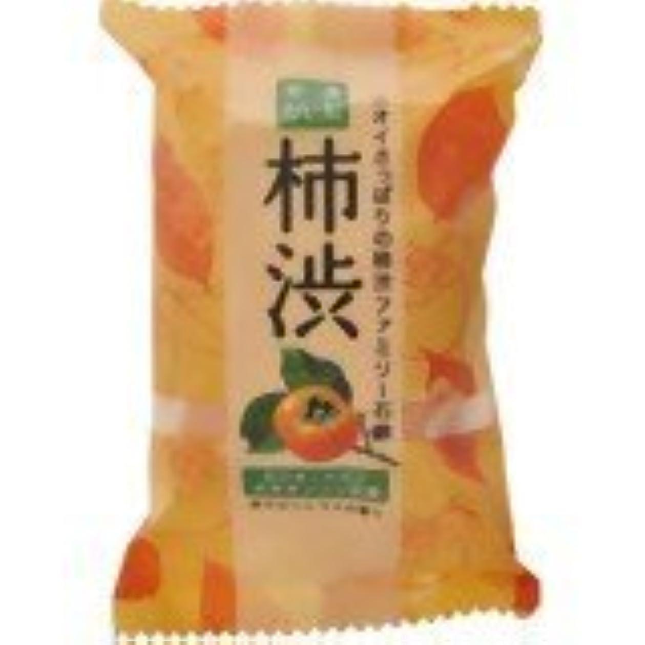 お風呂解くむさぼり食うペリカン ファミリー柿渋石鹸80g