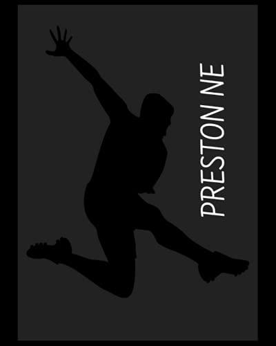 Preston NE: 4 Year Diary, Preston North End FC Personal Journal, Preston North End Football Club, Preston North End FC Diary, Preston North End FC Planner, Preston North End FC