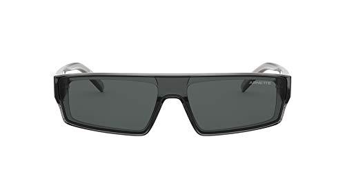 Arnette Herren 0AN4268 Sonnenbrille, Gris Transparente/Gris, 34