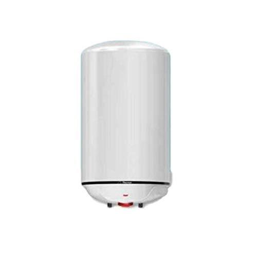 Termo eléctrico Concept N4 80 L para Acs de instalación vertical, capacidad de 80 litros, aislamiento poliuretano de alta densidad, 45,1 x 43,3 x 85,7 centímetros, color blanco (Referencia: 251104)
