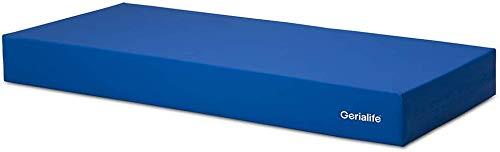 Gerialife Materasso geriatrico per ospedale articolato | 6 cm Viscoelastico | Copertura sanitaria impermeabile (90x190)