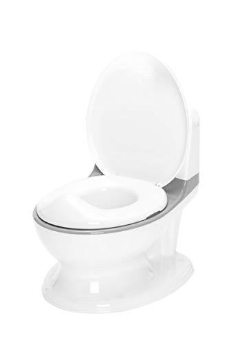 Fillikid Mini Toilette Exclusiv | Potty Töpfchen Baby | Toilettensitz Kinder | ideal geeignet als Toilettentrainer für Kinder | Kindertoilette mit Sound von 12 Monaten bis 25 kg verwendbar