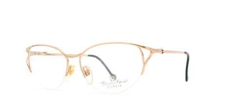 Etienne Aigner 208 30 Gold quadratisch zertifiziert Vintage Brillen Rahmen für Damen