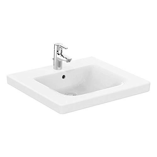 Ideal Standard Waschtisch Connect Freedom, unterfahrbar, 600x555x165mm,Weiß mit IP, E5482MA