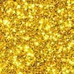 POLY-GLITTER 20 ml. Ca 0,6 mm. Polyglitter, Glitter, Glitzer in GOLD -39