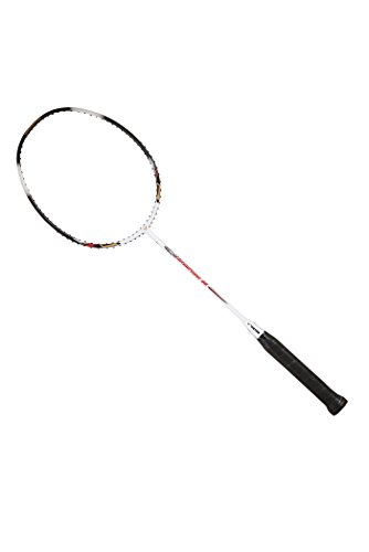 VICTOR Arrow Power 80 G5 Strung Badminton Racket String Tension Upto 30lbs (White/Black) (4U)
