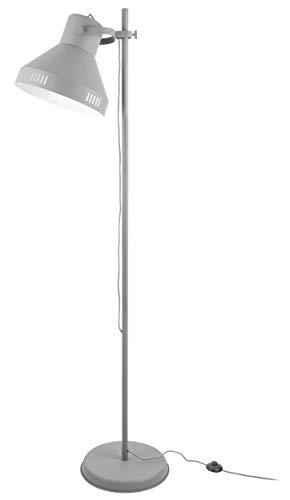 Present time - Lampadaire spot métal gris et chrome TUNED