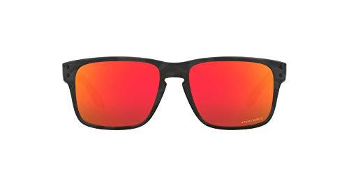 OJ9007 Holbrook XS Sunglasses, Matte Black Camo/Prizm Ruby, 53mm