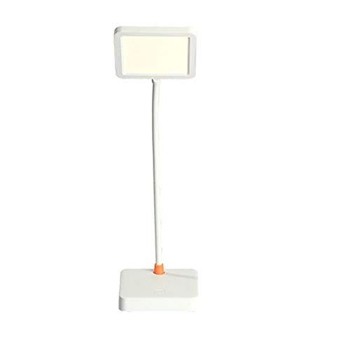 Lampe de bureau XFse Lampe de bureau Simple et moderne LED Eye Eye Lampe Touch Switch Batterie de lithium intégré Batterie USB Plug-in Câble de chargement rechargeable Dual-Usage DIAL-UTILISATION DIMM