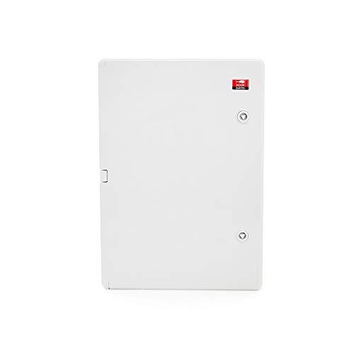 KOOP Elektro ABS Verteilerschrank Schaltschrank mit Verriegelung Tür mit umlaufender Dichtung 350x500x190, Industriegehäuse IP65 mit verzinkter Montageplatte