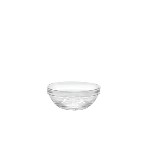 Duralex - Lys Stackable Clear Bowl 9 cm (3 1/2 in) Set Of 6