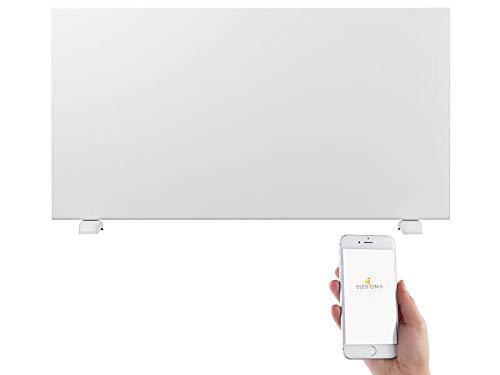 Sichler Haushaltsgeräte Konvektor Heizung: Extraflache Konvektorheizung mit App, komp. zu Alexa & Google, 2.000 W (Elektroheizkörper)