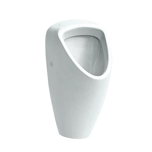 Laufen Absaugeurinal ohne Deckel Caprino Plus Zulauf von hinten ohne Fliege 320x350 weiß, Farbe: Weiß - H8420614000000001