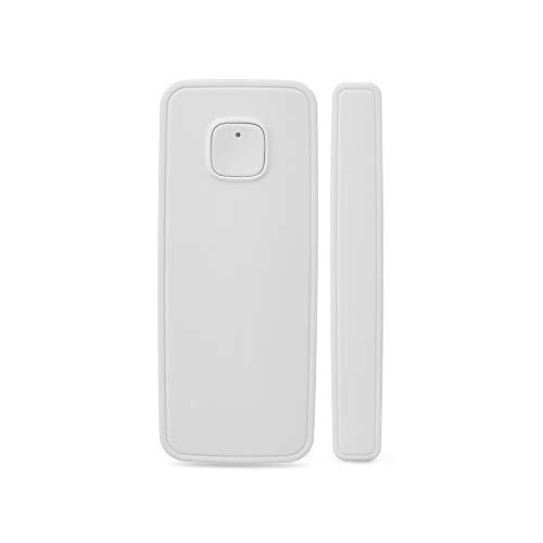 NBWS Smart Home Raamsensor, raamsensoren, smart window deurmagneetsensor-detector, compatibel met Alexa Google-startpagina IFTTT Telefoongestuurd iPhone tablet voor inbraakmeldingssystemen