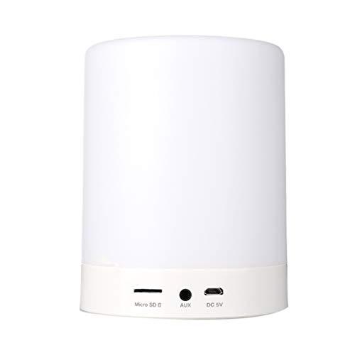 Lámpara de cabecera inalámbrica Bluetooth 7 colores Dimmable mano libre llamada luz niños regalo