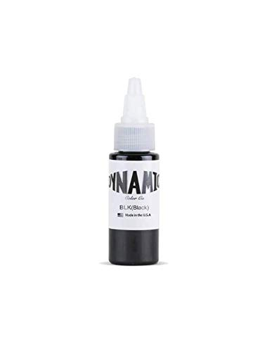 Dynamic Black Tattoo INK - 1oz