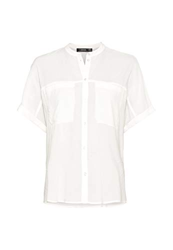 HALLHUBER Oversize-Bluse weit geschnitten Offwhite, 36
