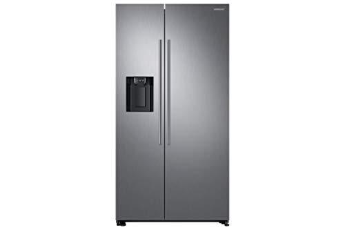 Frigorifero Samsung RS67N8210S9 American Style, Tecnologia SpaceMax, Precise Chef Cooling, Twin Cooling Plus, Porta Piatta, Design Minimale del Dispenser e Display Nascosto, Acciaio Metal Inox